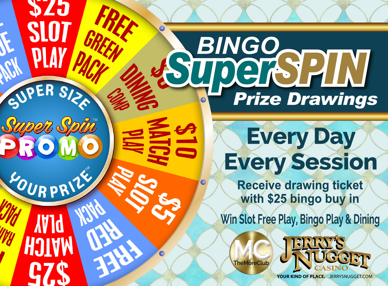 Bingo Super Spin Prize Giveaway