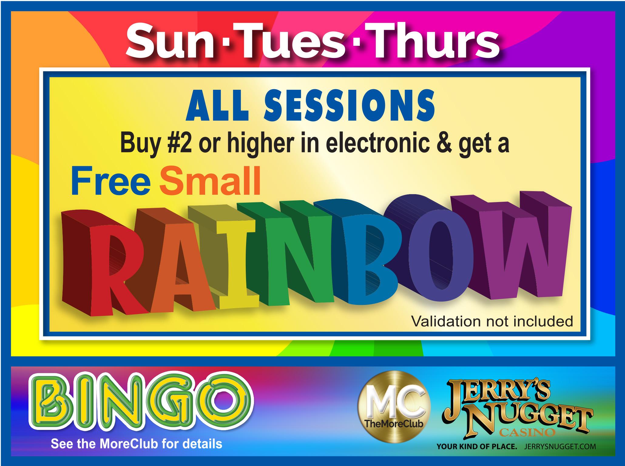 Bingo Free Rainbow