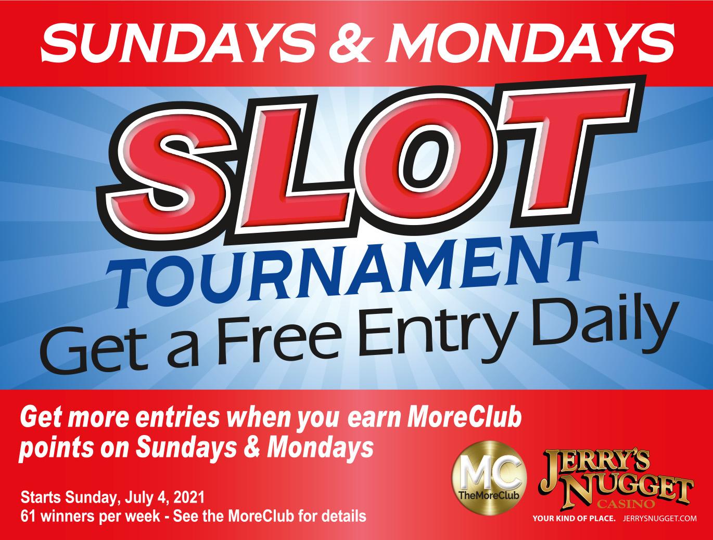 Slot Tournament Get a Free Entry